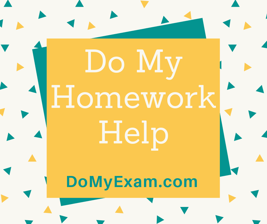Do My Online Homework