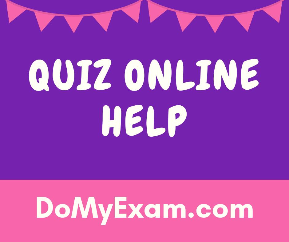 Quiz Online Help